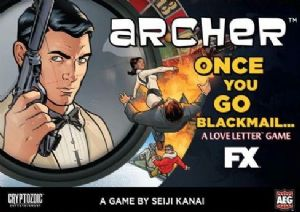 Archer : Once You Go Blackmail  (Clamshell)